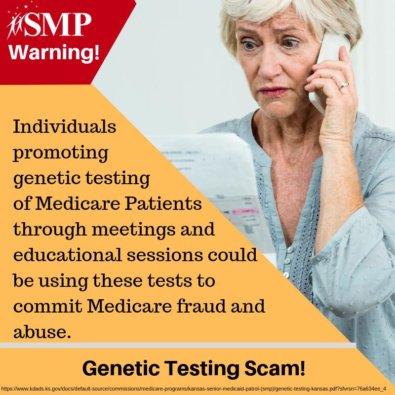Beware of Genetic Testing Scam! – SMP Webpage